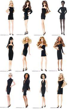 Image Search Results for black label barbie collection Barbie 2000, Barbie Paper Dolls, Barbie Room, Barbie Basics, Diy Barbie Clothes, Beautiful Barbie Dolls, Black Barbie, Barbie Collector, Barbie Friends