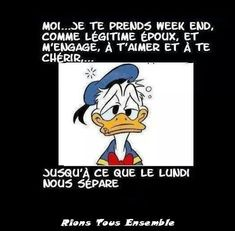 Bon week end humour Motivational Quotes For Life, Happy Quotes, Funny Quotes, Sunday Humor, Morning Humor, Funny Sunday, Monday Morning, Monday Motivation Quotes, Monday Quotes