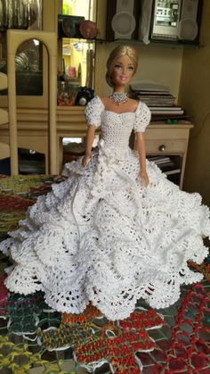 Vestido de Noiva Barbie