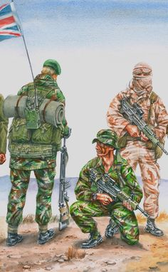 Uniforms of Royal Marines 1982 to Present Day