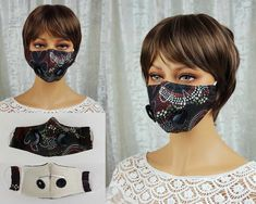 If you live where #covidmasks aren't mandatory and most people aren't wearing them - showing they don't care about their or your health - then you can protect yourself without concern for them. This cotton mask has 5 layers of cloth for maximum protection AND valves that let hot air out of the mask for maximum ease of breathing. Limited edition. 2 only.  #covidmasksforsale #covidmasksafe #covidmasksdoneright #covidmaskslife #covidmasksaustralia #masks4all #covidsafe #covidwise #maskson Steampunk Hat, Half Mask, Steampunk Accessories, Masks For Sale, Cloche Hat, Don't Care, Wool Felt, Retro Fashion, Cotton Fabric