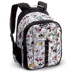 Comic Strip Mickey Mouse Backpack | Backpacks & Lunch Totes | Disney Store