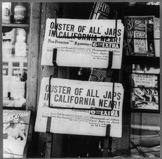 1942 Headlines by Dorothea Lange (LOC) by pingnews.com, via Flickr
