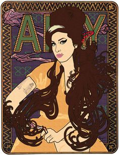Amy Series on Behance
