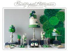 Emerald Green Desser