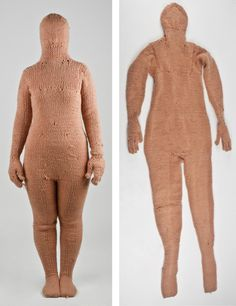 'Shelter' – Knitted By Irene Cano Irene, Crochet Costumes, Knit Art, Textiles Techniques, Art Textile, Louise Bourgeois, Feminist Art, Skin Tight, Wearable Art