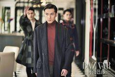 Hu Ge for Harper's BAZAAR (China) October 2015