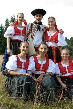 Village of Cierny Balog, Horehronie Region, Central Slovakia. Folk Embroidery, Beautiful Costumes, Folk Costume, Photo Archive, Bohemian, Traditional, Couple Photos, Bratislava, Europe