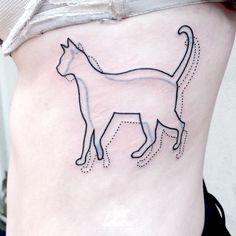 ribcage cat