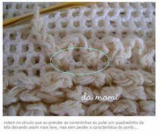 Casa da mami: tapete em ponto carneirinho / croche