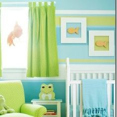 How to mix green in with teal and yellow