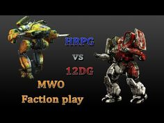 MWO faction play almost full teams: HRPG vs - I was the spectator there. The Spectator, Hip Hop, Gaming, Play, Youtube, Videogames, Hiphop, Game, Toys