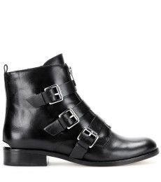 MICHAEL Michael Kors - Anya leather ankle boots - mytheresa.com