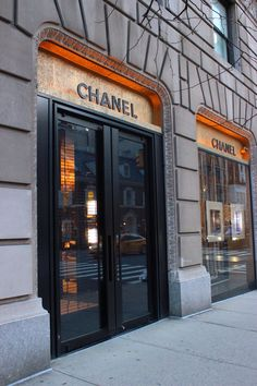 Chanel Store,  Madison Avenue.
