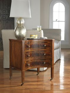 Interior HomeScapes offers the Concave Three Drawer Chest by Modern History.  Visit our online store to order your Modern History products today.