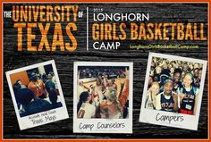 Send your daughters, nieces, friends & cousins to camp! Register now at LonghornGirlsBasketballCamp.com #PassItOn