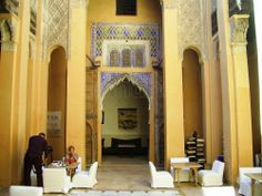 Dar Cherifa Literary Café in Marrakesh, Morocco has to be one of the world's most beautiful places for a cup of coffee!  http://www.minube.net/place/dar-cherifa-literary-cafe-a2183301
