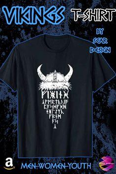 Viking Warrior Shirt Gym Mens T-Shirt by Scar Design. For Men 2b6820d4d