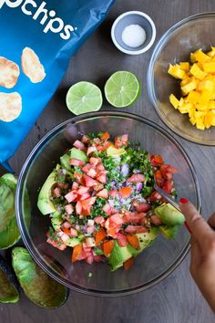Mango Guacamole @popchips #popyourbbq / blog.jchongstudio.com