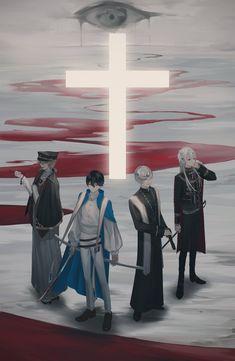 Akira Kurusu, Handsome Anime Guys, Manga Games, Beautiful Artwork, Priest, Art Boards, Anime Characters, Anime Art, Character Design