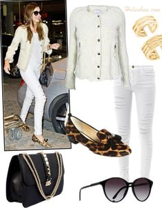 Winter White: Party Glamour or Street Chic