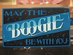 May the boogie be with you