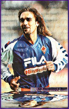 Gabriel Batistuta World Football, Football Soccer, Argentina Soccer, Gabriel, Messi, Baseball Cards, Masters, Bb, Sport