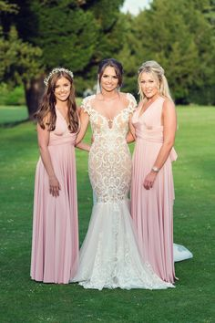 A perfect bridesmaid gift is something that is personal and that they'll use for years to come. We researched the best bridesmaid gifts out there so you don't have to. Best Bridesmaid Gifts, Bridesmaid Thank You, Bridesmaids, Beautiful Bridesmaid Dresses, Wedding Dresses, Flower Bouquet Wedding, Your Girl, Pink Dress, Real Weddings