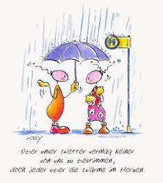 Das Leben ist Bunt: Regen, Regen, Regen ...
