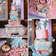 Hilari & Tyler's Alice in Wonderland themed wedding