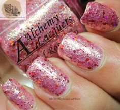 Alchemy Lacquers Rose Hip Swatch and Review I Tales of Coffee, Lacquer and Beauty
