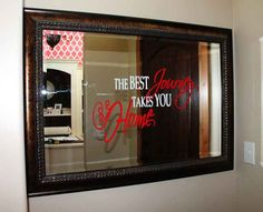 Image result for vinyl designs for mirrors