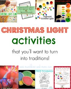 Going out to view Christmas lights with the family? Check out these great ideas to build anticipation and create new family traditions!