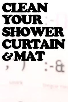 Put shower curtains in the dishwasher. | 32 Things You Should Be Cleaning But Aren't