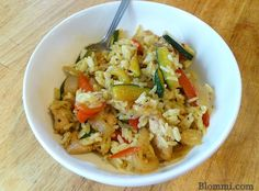 Italian Chicken Fried Rice Recipe