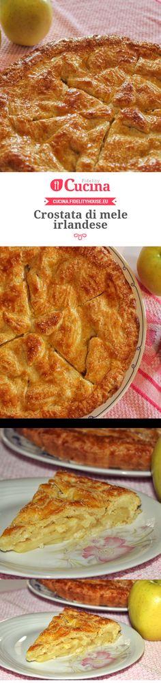 #Crostata di #mele irlandese. Una ricetta della nostra utente Lucilla, entra anche tu nella #Community ed inviaci le tue ricette > bit.ly/1LiPYiP