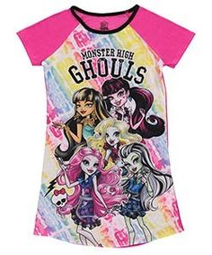 162c2181f Monster High Characters, Kids Girls, Little Girls, Sleep Dress, Dresses For  Less