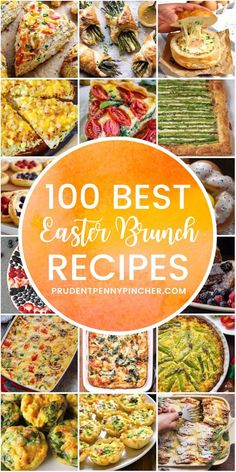 100 Best Easter Brunch Recipes Celebrate Easter with one of these easy easter brunch recipes. From make ahead breakfast casseroles to savory frittatas, there are plenty of breakfast recipes that are perfect for a crowd. Easter Dinner Recipes, Easter Brunch, Lunch Recipes, Healthy Dinner Recipes, Breakfast Recipes, Easter Food, Easter Appetizers, Lunch Snacks, Easter Treats