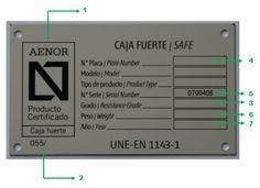 A partir del 18 Agosto 2011 según Orden INT/317/2011 Ministerio del Interior los certificados de ensayo de laboratorio de las cajas fuertes Grado I-III-IV norma 1143-1 exigidos por la POLICIA y GUARDIA CIVIL a ARMERIAS, ARMA CORTA Y LARGA . No son validos los extendidos por los fabricantes , el único admitido es la certificación de producto, y en especial el extendido por AENOR