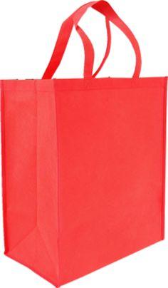 Red Non Woven Reusable Bag