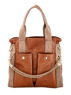 #Udobuy Brown Messenger Shoulder Bag