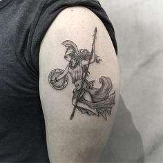 Making tattoos is a trendy thing in the century. People today are crazy about getting tattoos made. People get tattoos made on hands, ankles, neck, st Greek Goddess Tattoo, Greek God Tattoo, Greek Mythology Tattoos, Moon Goddess, God Tattoos, Life Tattoos, Body Art Tattoos, Sleeve Tattoos, Tatoos