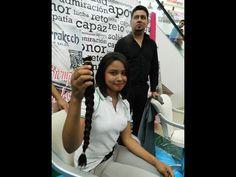 Donan su cabellera para los enfermos de cáncer.  Jóvenes y adultos se cortan la melena para apoyar en la elaboración de pelucas oncológicas Salvador Castro | NorteDigital Foto: Ismael Villagómez.