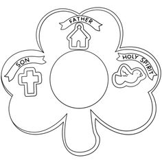 printable animated images of the holy trinity for children