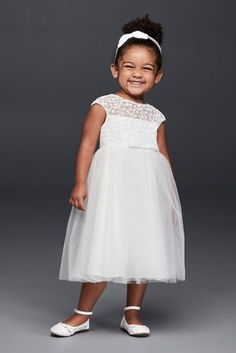 413e6e862e8ca Sequin and Tulle Flower Girl Dress with Satin Sash Style WG1370, Ivory, 6 |  Wedding | Tulle flower girl, Flower girl dresses, Princess flower girl  dresses
