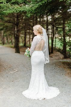 Lace open back wedding dress / fit and flare wedding dress / keyhole wedding dress Open Back Wedding Dress, Fit And Flare Wedding Dress, Hotel Wedding, Wedding Events, Bridal Gowns, Wedding Dresses, Beautiful Love, Lace, Model