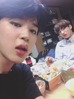 Jimin and Jungkook ❤ #BTS #방탄소년단                                                                                                                                                                                 More