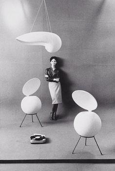 Moda and design By Jean-Loup Sieff photograph, Circa 1960 Jean Loup Sieff, Open Baffle Speakers, Gray Interior, Loudspeaker, Mid Century Modern Design, Interiores Design, Cool Furniture, Mid-century Modern, Modern Living