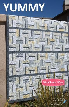 Yummy Quilt Pattern Jaybird Quilts - Fat Quarter Shop