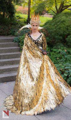 How to make a Queen Ravenna Costume / The Huntsman: Winter's War